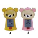 【震撼精品百貨】Rilakkuma San-X 拉拉熊懶懶熊~扭蛋造型存錢筒(兩款圖案)#94660