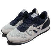 【六折特賣】Mizuno 復古慢跑鞋 ML87 灰 深藍 休閒鞋 男鞋 女鞋 運動鞋 【PUMP306】 D1GA170305