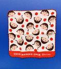 【震撼精品百貨】CHIBI MARUKO CHAN_櫻桃小丸子~小丸子紗布手帕/方巾-紅蘋果#55051