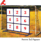 台灣製造 足球式3x3正方形九宮格(大型)(不含足球網架)射門練習.休閒運動健身器材.推薦哪裡買ptt