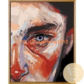 數字油彩畫diy手工填充抽象數碼手繪填色客廳油畫北歐裝飾畫【白嶼家居】
