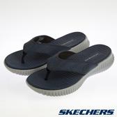 SKECHERS 男休閒系列 拖鞋 ELITE FLEX-51718NVY