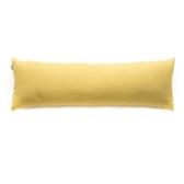 HOLA 素色織紋長抱枕40x120cm 芥黃色