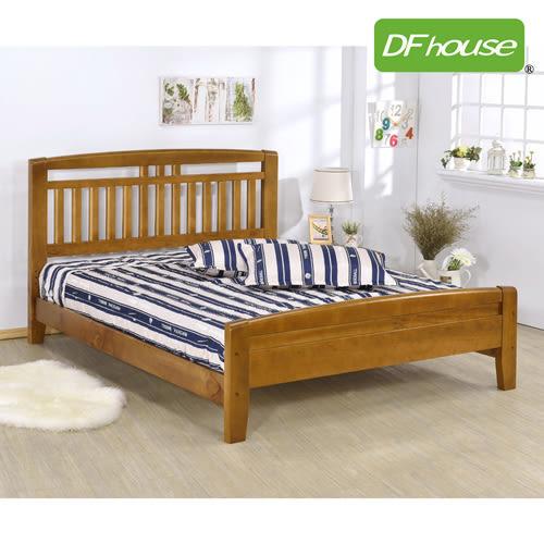 《DFhouse》潘朵拉5尺實木雙人床- 單人床 雙人床 床架 床組 實木 涼夏床 臥室 居家 生活起居 透氣