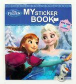 【金玉堂文具】Disney 迪士尼 冰雪奇緣趣味方形貼紙書 幼教書本 親子貼紙書