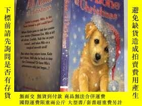 二手書博民逛書店All罕見Alone at Christmas :獨自一人過聖誕節,Y200392