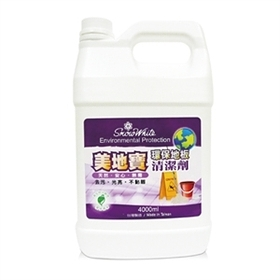 **好幫手生活雜鋪**白雪 美地寶 環保地板清潔劑 4000ml*4 / 箱------洗碗精.清潔劑.洗衣精