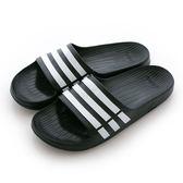 Adidas 愛迪達 DURAMO SLIDE  運動拖鞋 G15890 男/女 舒適 運動 休閒 新款 流行 經典