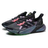 ADIDAS 慢跑鞋 X9000L4 M BOOST 黑 紫綠 銀河綠 好穿 軟底 運動鞋 男 (布魯克林) FW4910