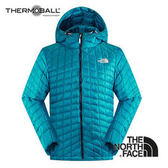 The North Face 男 ThermoBall™ 保暖兜帽外套 瓷釉藍 C938