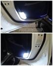 LUXGEN納智捷U6【LED車門燈-2顆】U6 TURBO白光門邊燈 冰藍色 ECO特仕版 全車專用LED小燈
