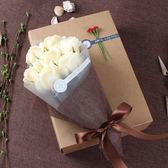 聖誕節狂歡 畢業禮物送女生老師紀念品古風幼兒園成人生日香皂花禮盒玫瑰花束 森活雜貨