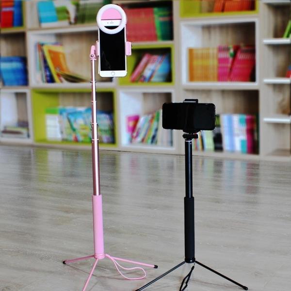 主播手機直播支架桌面多功能戶外補光美顏拍照三腳架落地式-享家