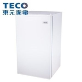 ↙0利率↙TECO 東元 99公升 單門小冰箱 R1091W 小鮮綠  一級能效【南霸天電器百貨】