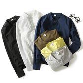立領甲克衫男士純色外套男裝輕薄款棒球衣夏天男生開衫上衣 奇思妙想屋