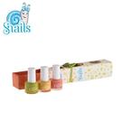 Snails 小小鍋牛水性兒童指甲油-時尚經典系列(三色組)