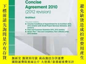 二手書博民逛書店RIBA罕見Concise Agreement 2010 (20