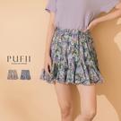 限量現貨◆PUFII-褲裙 碎花雪紡短褲...