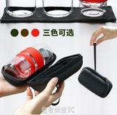 玻璃旅行茶具套裝便攜包快客隨身一壺二杯功夫茶藝杯飄逸杯泡茶壺·皇者榮耀3C