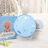 新生寶寶手足腳印泥滿月胎毛紀念品百天嬰兒DIY 自制創意永久禮物第七公社