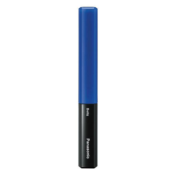 【數量限定】國際牌Panasonic 攜帶式 音波震動電動牙刷 藍/黑色 EW-DS29-A (附10組牙間刷頭)