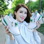 運動鞋 內增高小白鞋女鞋春季百搭韓版顯瘦休閒鞋高跟坡跟單鞋子【韓國時尚週】