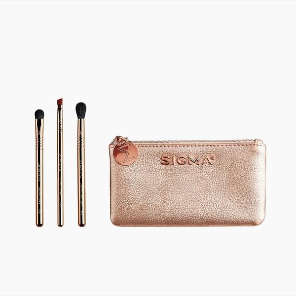 Sigma PETITE PERFECTION BRUSH SET迷你眼部刷具+化妝包 4件 美國官方授權經銷商