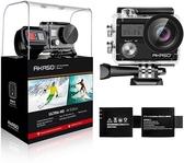 AKASO【美國代購】WiFi 運動攝影機Sony感測器 4K 20MP 電子防抖30m防水Brave 4