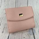 BRAND楓月 Salvatore Ferragamo 粉紅色 櫻花粉 金色名牌 短夾 皮夾 錢夾 錢包