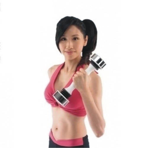【Shake Weight搖擺鈴】6分鐘 纖臂提胸UP (女版)