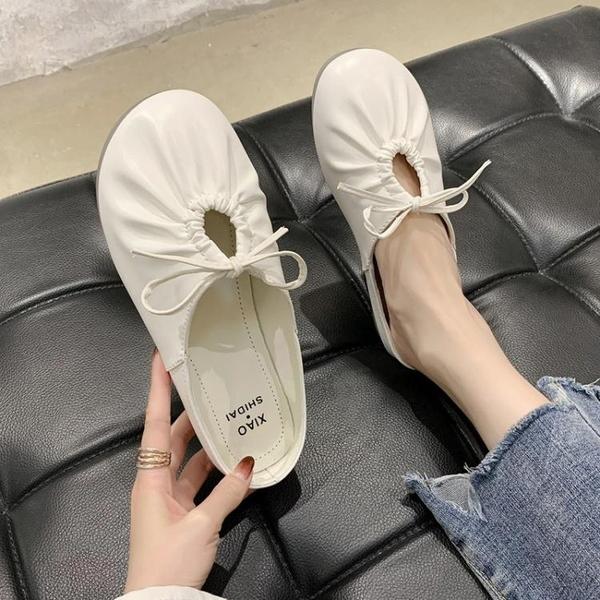 穆勒鞋 網紅同款半拖鞋2021年新款女鞋夏季室內外穿無后跟穆勒鞋子ins潮 小天使