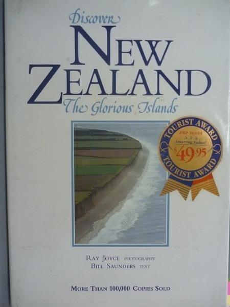 【書寶二手書T2/地理_QHM】Discover New Zealand:The Glorious Islands_Ra