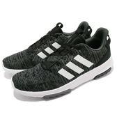 adidas 休閒慢跑鞋 CF Racer TR 黑 白 低筒 運動鞋 舒適緩震 男鞋【PUMP306】 DB0681