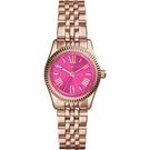 『Marc Jacobs旗艦店』美國代購 MK3285 Michael Kors玫瑰金色不鏽鋼迷你小錶盤女錶|MK|100%全新正品|