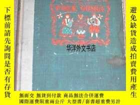二手書博民逛書店【罕見】1947年紐約出版《爐邊情歌》彩色版畫插圖Y226683