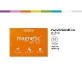 磁力便利貼 Magnetic Notes M-Size橘【Tesla Amazing】