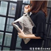 韓國東大門女包2018新款氣質手拿包簡約手抓包女士休信封包手包 漾美眉韓衣