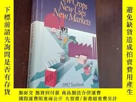 二手書博民逛書店NEW罕見CROPS NEW USES NEW MARLETS N 1992 yearbook of agricu