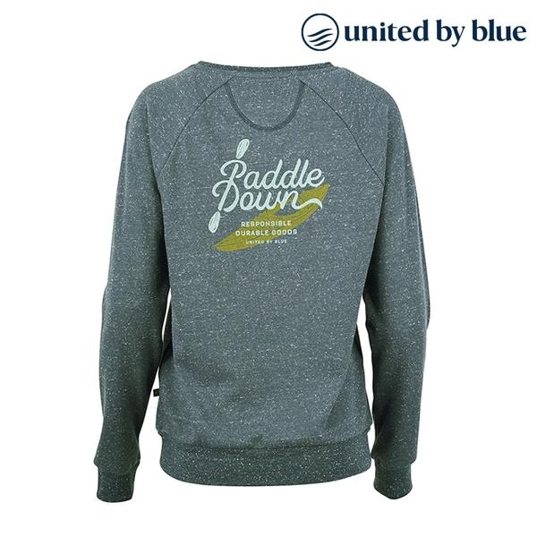 United by Blue 女起球圓領長袖上衣 201-089 Paddle Down Crew Pullover / 城市綠洲 (有機棉、環保、長袖T)
