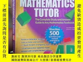 二手書博民逛書店SECONDARY罕見FOURMATHEMATICS TUTOR