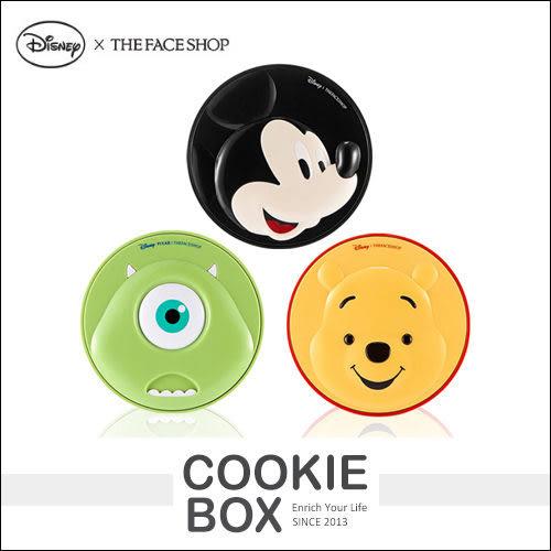 【即期品】韓國 THE FACE SHOP X DISNEY 迪士尼 聯名系列 氣墊粉餅 15g 米奇/維尼/大眼仔 *餅乾盒子*