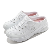 Skechers 拖鞋 Arch Fit Blessful Me 白 銀 女鞋 休閒鞋 懶人鞋 【ACS】 149419WSL
