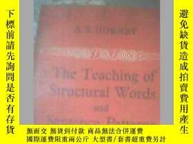 二手書博民逛書店THE罕見TEACHING OF STRUCTURAI WORD