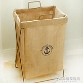 手提髒衣服收納筐可摺疊支架防水超大號髒衣籃髒衣簍玩具儲物箱 芭莎WD