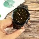 FOSSIL美國品牌NEUTRA極品紳士三環計時尚腕錶FS5525原廠公司貨