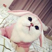 可愛小兔子貓衣服寵物狗狗貓咪衣服英短銀漸層加菲貓服飾 伊鞋本鋪