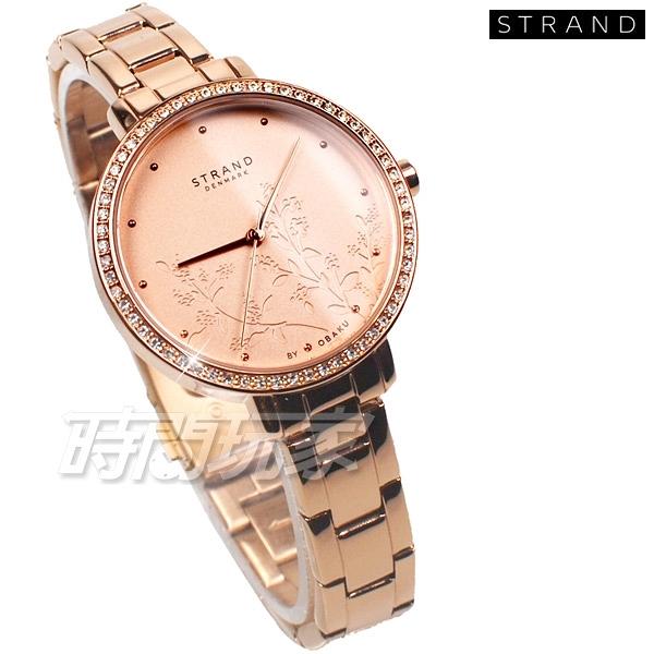 STRAND BY OBAKU 花漾 璀璨 完美鑽錶 玫瑰金色 不銹鋼 女錶 S712LXVVSV