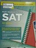 【書寶二手書T3/科學_PNC】Math Workout for the SAT_Jonathan Chiu