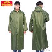 連體雨衣外套女成人日韓時尚徒步個性男士防雨防水薄款中長款戶外 aj6354『紅袖伊人』