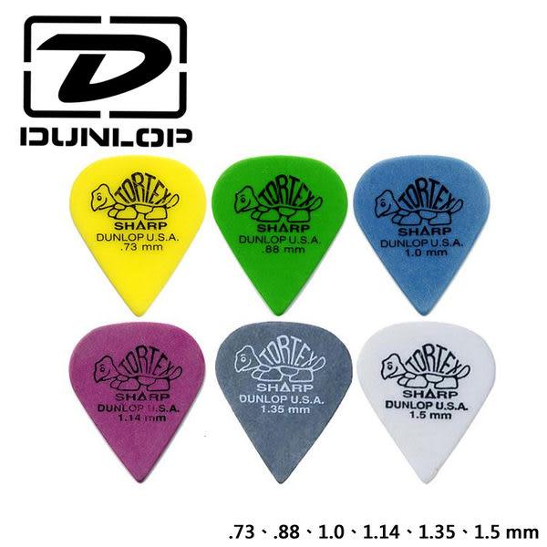 小叮噹的店- 美國Dunlop 412R TORTEX SHARP 淚滴型 匹克/彈片/PICK/撥片.公司貨
